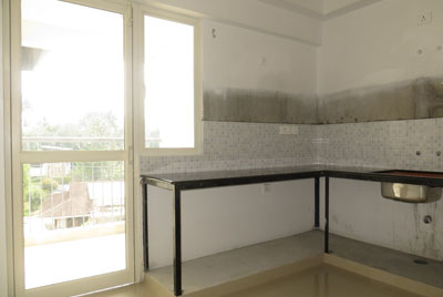 Apartments in Cochin Kitchen space